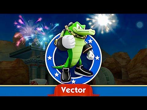 Sonic Dash Vector