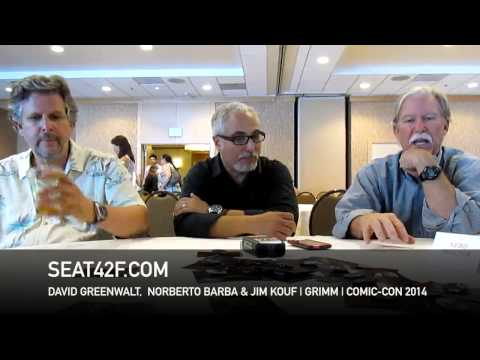David Greenwalt, Norberto Barba, Jim Kouf GRIMM Interview Comic Con
