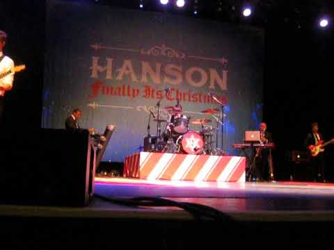HANSON All I Want For Christmas, Toronto Nov 24th 2017.