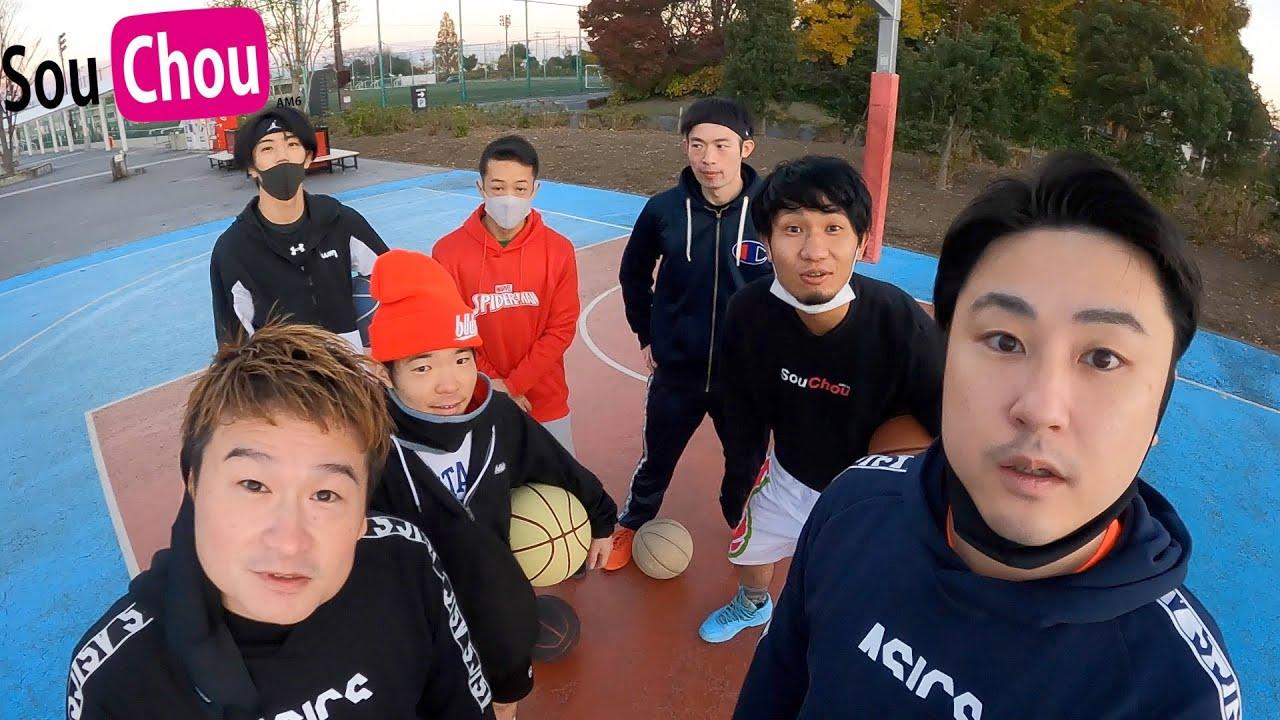 【バスケ】約3ヶ月ぶりに早朝埼スタで3on3!GoPro凄すぎw【3on3】