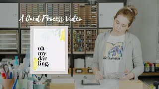 Gina K Designs April 2021 Card Video