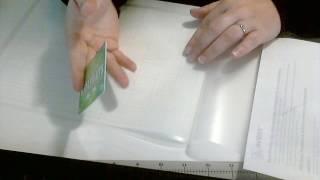 Making Stencils using Laminate Pouches