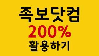 족보닷컴 200% 활용하기!