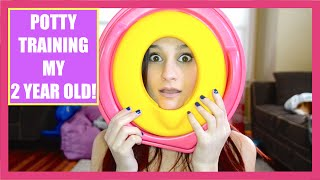 POTTY TRAINING MY 2 YEAR OLD! | UPDATE!