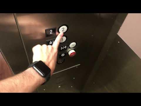 4K 30fps: DOVER Hydraulic Elevators At Paradise Valley CC (KSC Building) - Phoenix, AZ