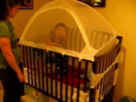 Sebastianu0027s Crib Tent & Sebastianu0027s Crib Tent - YouTube