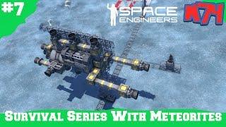Space Engineers Survival Series: Building Our Planet Escape Ship [S1E7]