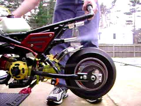 49cc Cag Pocket Bike With Full Upgrades Running Youtube