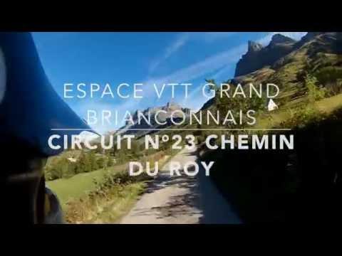 Espace VTT Grand Briançonnais - Circuit 23 Chemin du Roy
