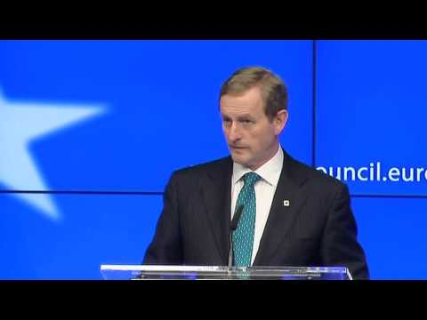Irish PM Enda Kenny attacks bankers