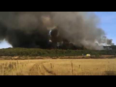 Incendio en Cubillas de Rueda
