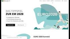 Kostenloses Tippspiel für die EM 2021 erstellen