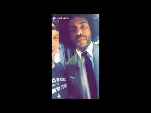 Daveed Diggs' Snapchat [5/27/16]