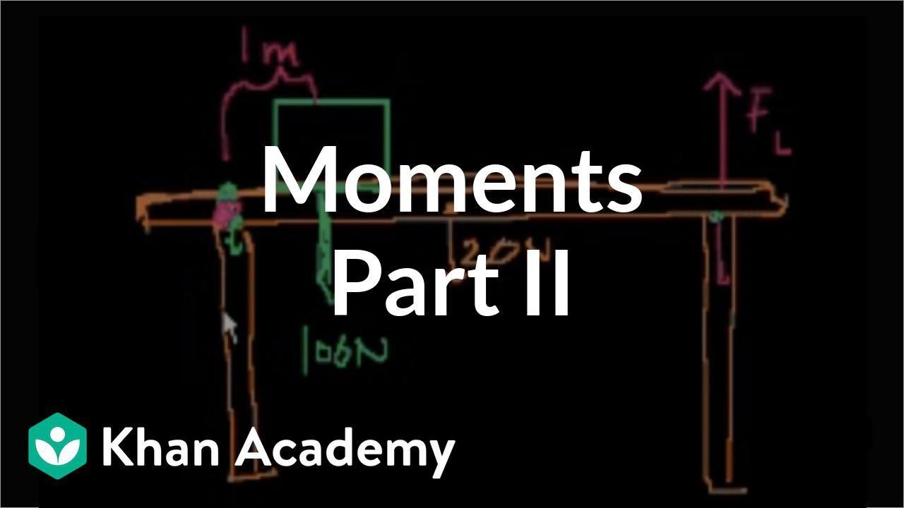 Moments (part 2) (video) | Khan Academy