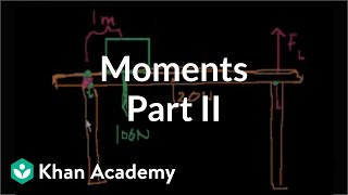 moments part 2   moments torque and angular momentum   physics   khan academy
