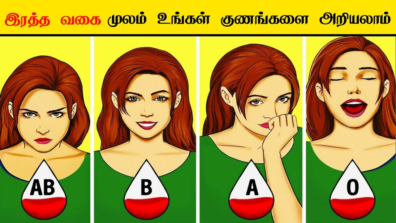 Download What your Blood Type says about your Personality_ facts in Tamil _ minutes mystery _Tamil  galatta