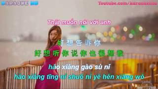 劉增瞳-好想聽你說   Thật Muốn Nghe Anh Nói - Lưu Tăng Đồng 【歌詞】