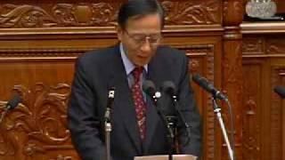 内閣不信任決議案に対する細田博之幹事長反対討論_2009.07.14_衆院本会議