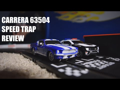Carrera GO Speed Trap 63504 Slot Car Set Review (Unbox, Build, and Racing)