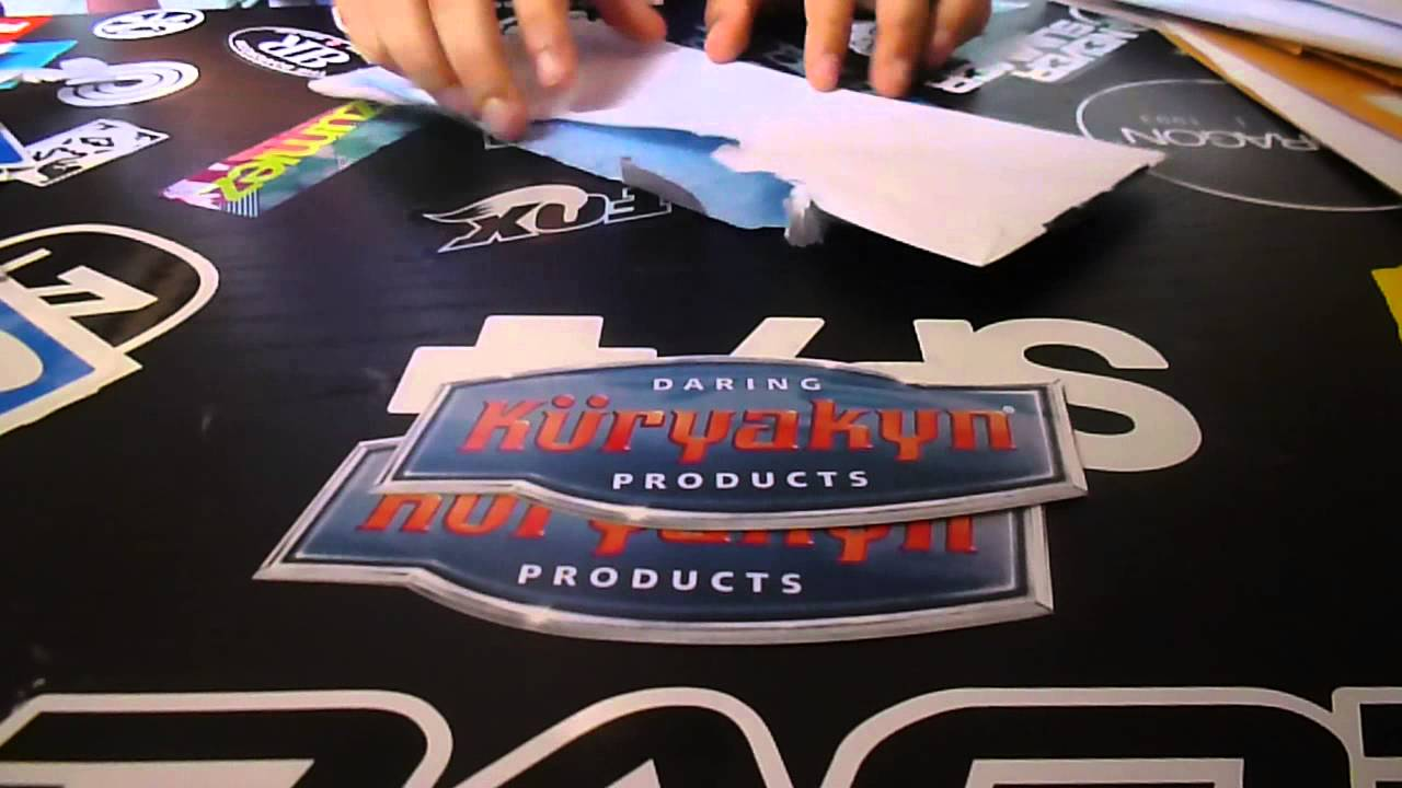Free stickers online by mail