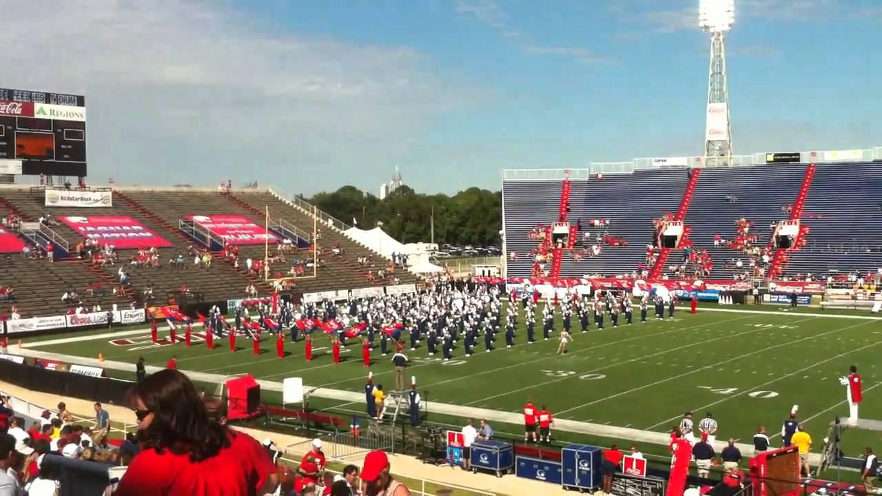University Of Southern Alabama >> University Of South Alabama Marching Band Pre Game 9 4 10