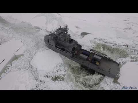 FNS Louhi and OPV Turva - Full Scale Ice Trials 2016
