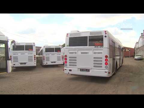25новых автобусов нагазу прибыли вЧереповец