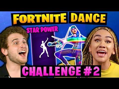 FORTNITE DANCE CHALLENGE! #2