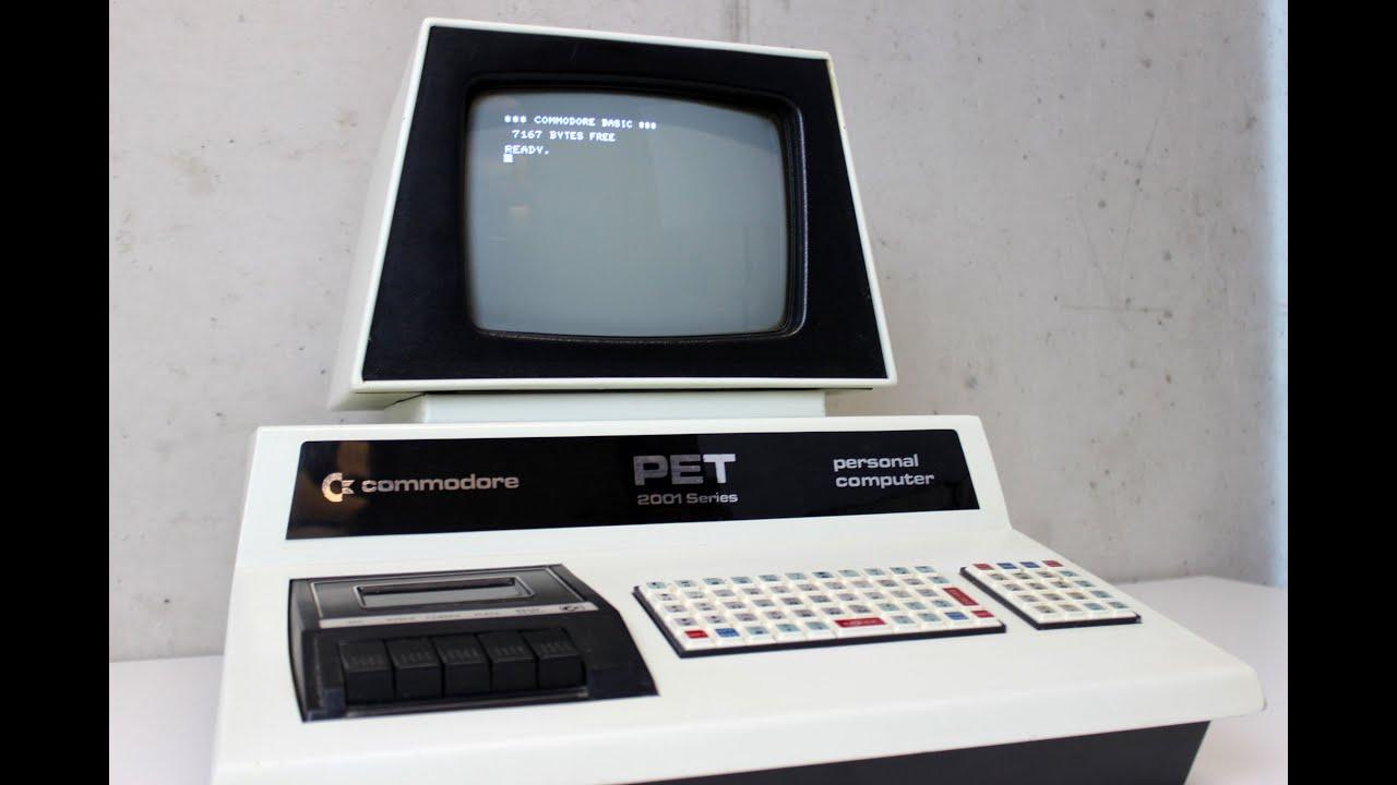 Commodore PET 2001 - YouTube