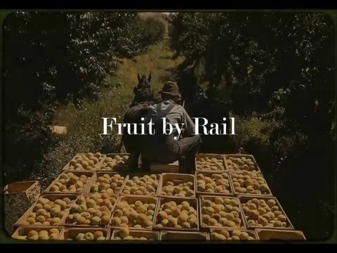 Shipping Fruit by Rail - the North Ogden Fruit Exchange
