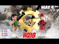 Boom Beach - HQ18 War Factory Unboosted - May 4/2017