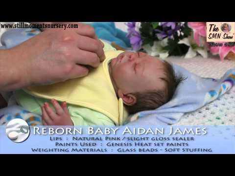 Reborn Baby Boy Aidan James By Nikki Holland - The SMN Show 25