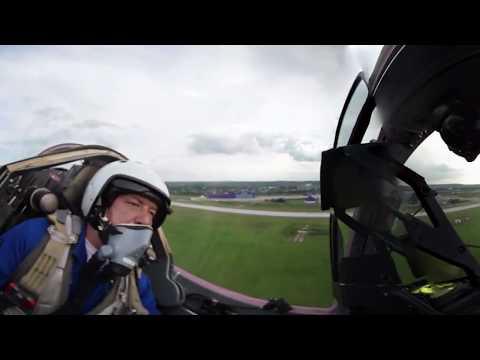 Speed festival 360: Racing cars challenge jets at MAKS 2017 salon