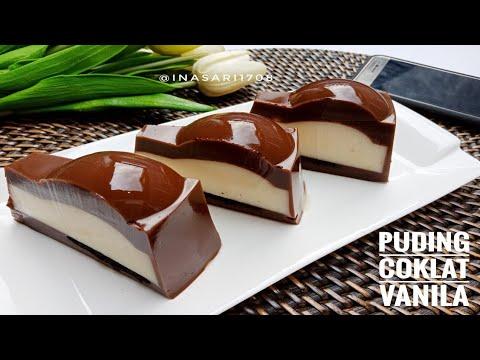 Puding Vanila Coklat resep (chocolate vanilla pudding) tutorial recipe by  Labomba Food - YouTube