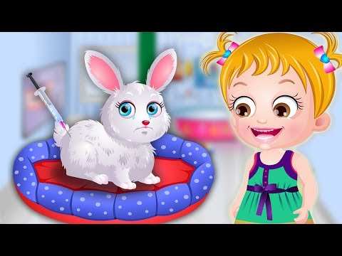 Baby Hazel Pet Treatment | Pet Doctor Games For Kids to Play | Baby Hazel Game Movie