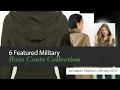 6 Featured Military Rain Coats Collection Amazon Fashion, Winter 2017