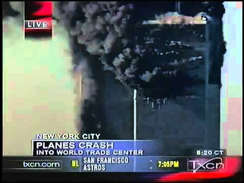 9/11 News Coverage - Texas Cable News TXCN September 11, 2001 9.15am - 9.30am