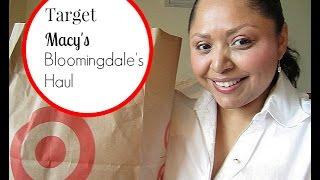 Target+Macy's+Bloomingdale's Haul Thumbnail