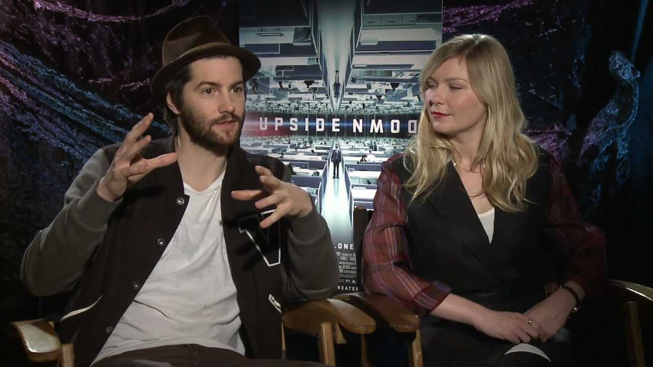 "Interview with Jim Sturgess and Kirsten Dunst for ""Upside ..."