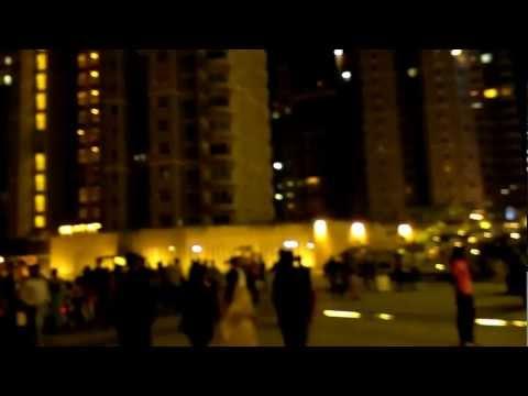 Night life at Orion mall Brigade gateway Bangalore