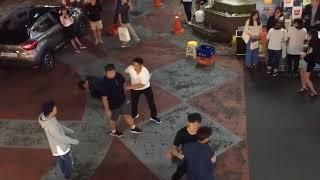 Zapętlaj 취객 길거리 싸움 경찰한테 참교육 오지게당함 | 마음에큰병있는환자