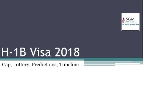 H1B Visa 2019-2020: Cap, News, Lottery Predictions, Dates, Sponsors