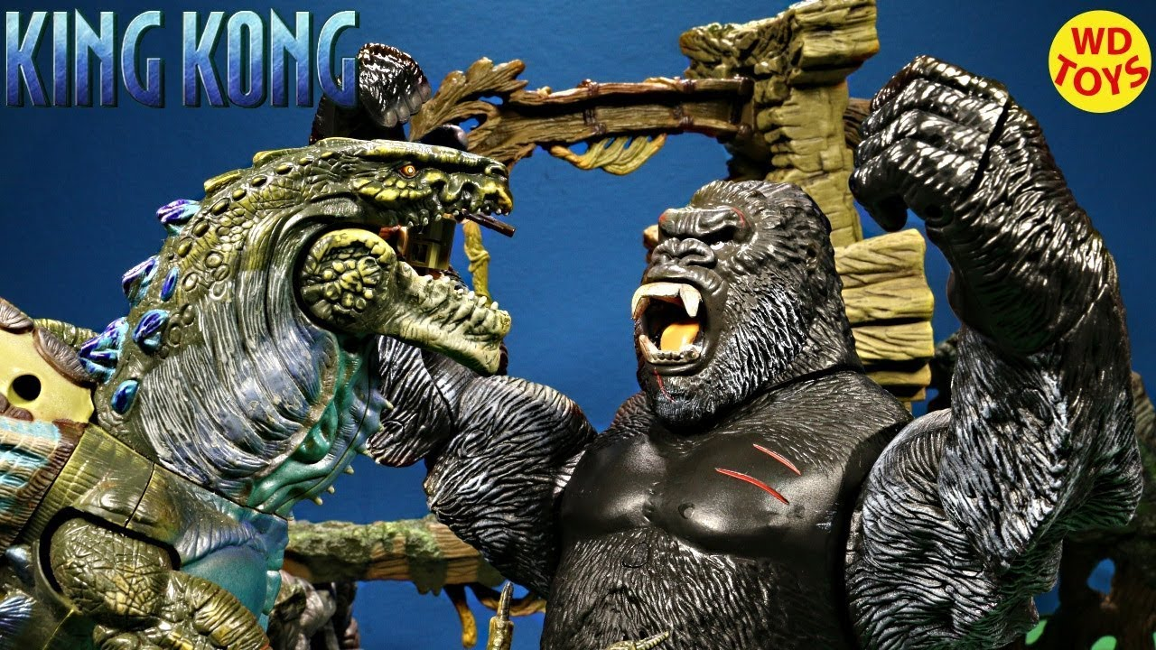 New King Kong Supreme Kong The 8th Wonder of the World King Kong Vs Godzilla Skull Island Unboxing
