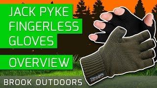 Jack Pyke Fingerless Gloves - Overview
