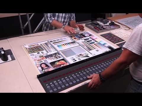 Mitsubishi L1100 Eight Color Web Offset Press