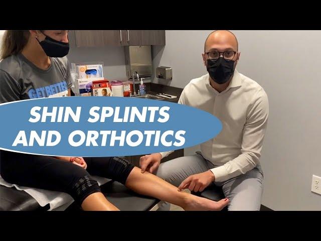 SHIN SPLINTS AND HOW ORTHOTICS CAN HELP - DR AMMAR SAYMEH