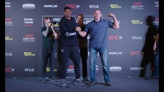 UFC St. Petersburg: Media Day Faceoffs