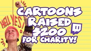 Cartoon-Charity-Stream ERFOLG!