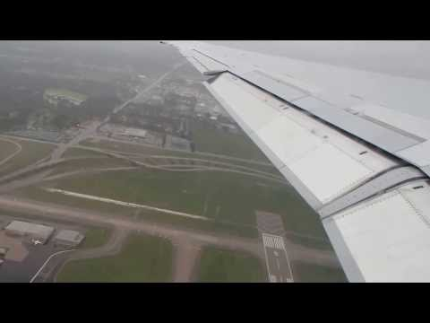 Taking off from Memphis International Airport