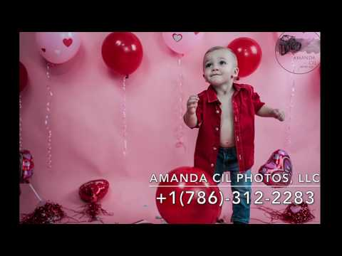 Amanda Cil Photos, LLC | Valentine's Day Studio Photo Session